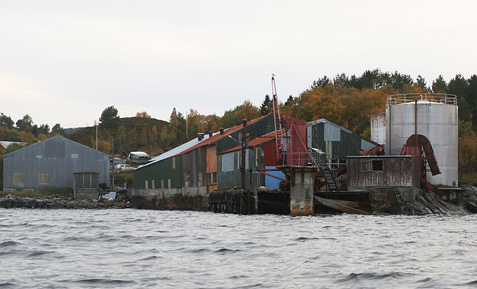 Algeas fabrikk i Kvalvika