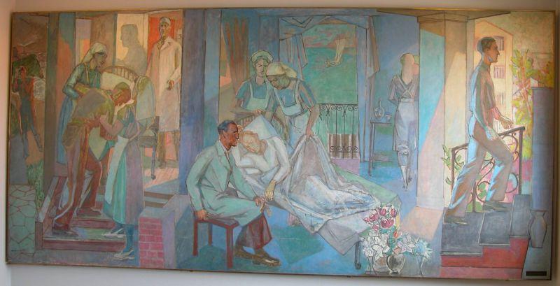 Alf Rolfsen - Veggmaleri
